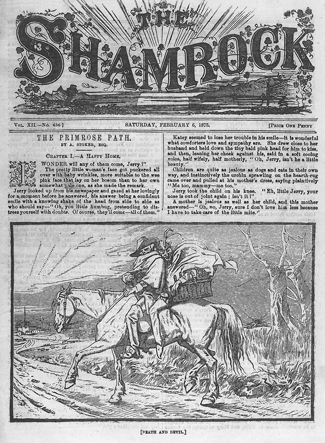 The Shamrock Newspaper Cover