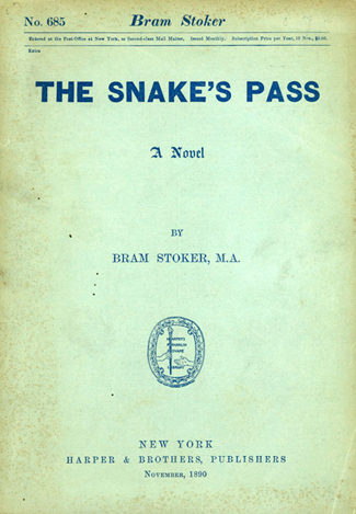 The Snake's Pass US Book Cover