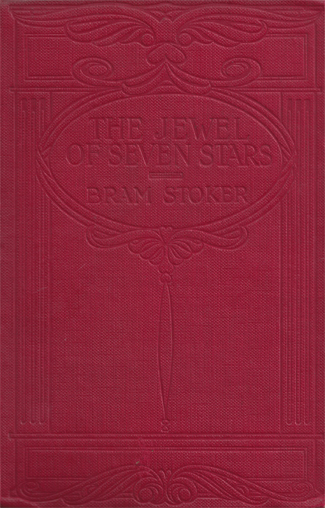 The Jewel of Seven Stars (Abridged) UK Book Cover