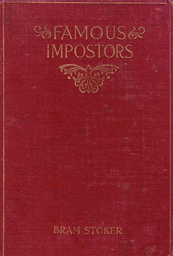 Famous Impostors UK Book Cover