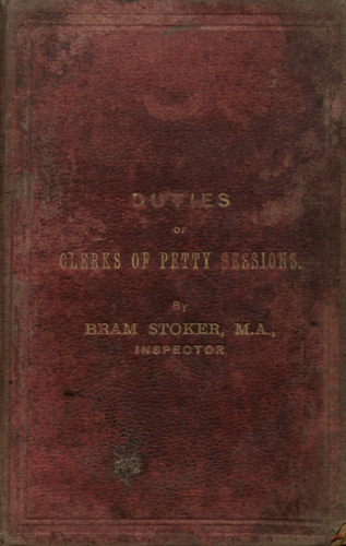 The Duties of Clerks of Petty Sessions in Ireland Book Cover