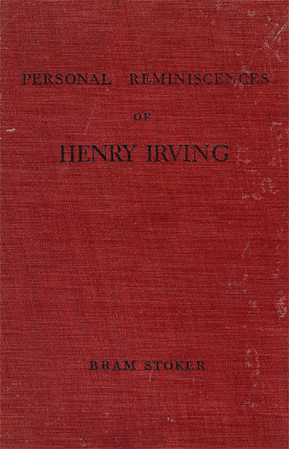 Personal Reminiscences of Henry Irving UK Book Cover