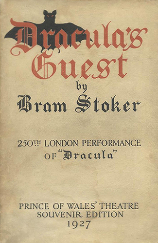 Dracula's Guest UK Paperback Cover