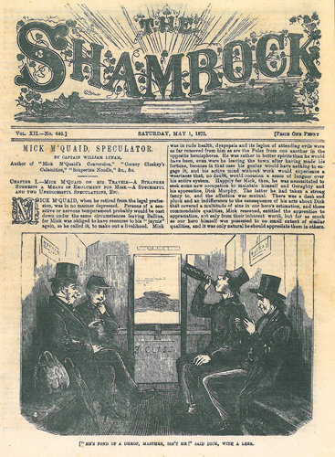 The Shamrock, May 1, 1875