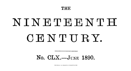 The Nineteenth Century, June 1890