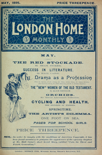 The London Home Monthly, May 1895