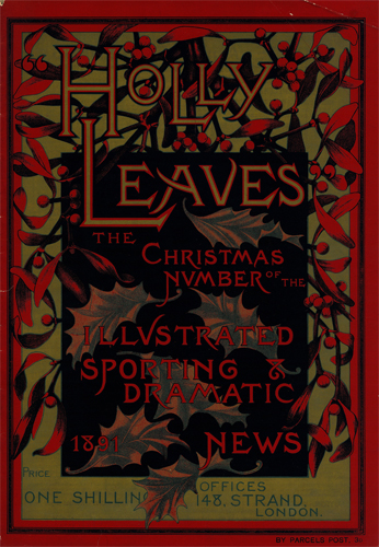 Holly Leaves, December 1891