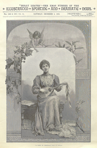 Holly Leaves, December 1893
